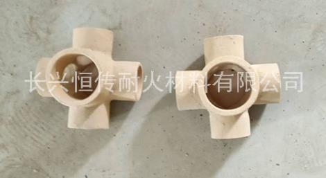 球墨铸铁专用耐火材料异性耐火陶瓷管