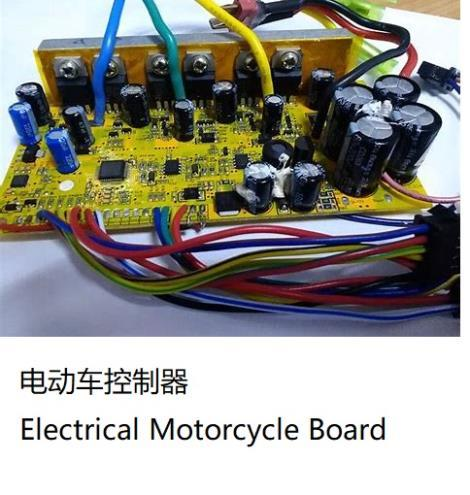 Electric Motorcycle Board