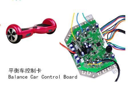 Balance car control card