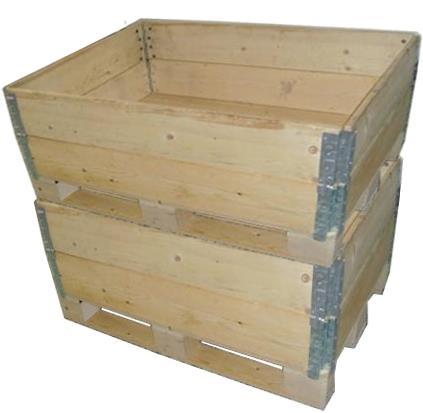 双层围板箱