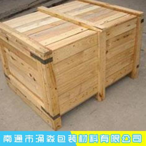 实木熏蒸木箱