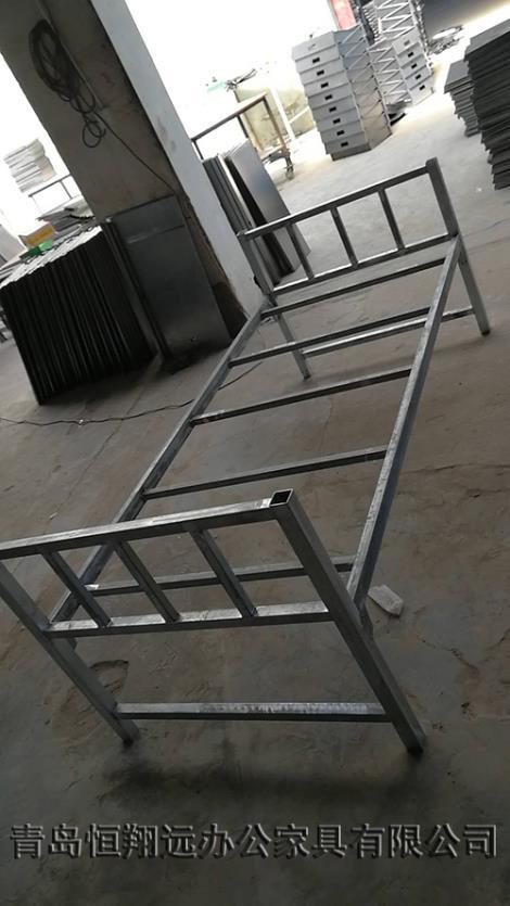 单人单层床铁架床