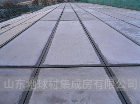 钢边框保温隔热轻型屋面板