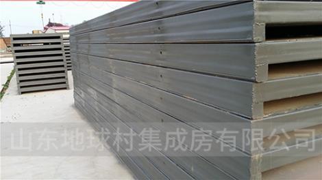 钢骨架轻型屋面板生产