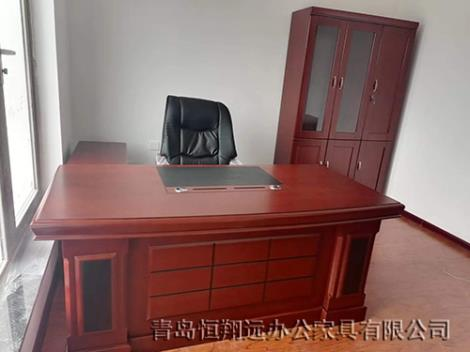 实木老板办公桌
