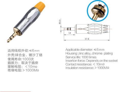 3.5音频接口S-10059PG