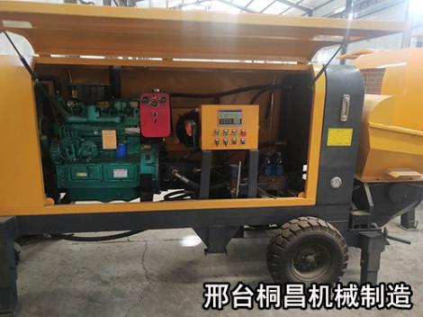 柴油動力二次構造柱泵