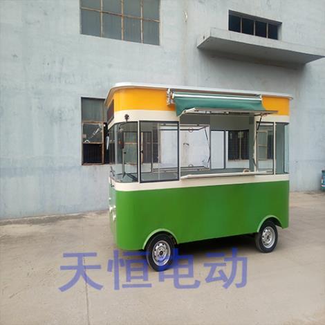 电动快餐车