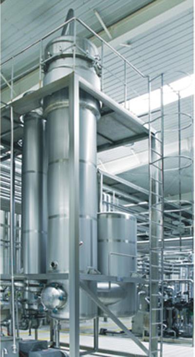 单效降膜蒸发器