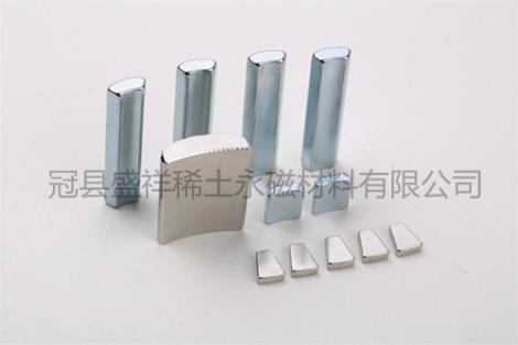 稀土永磁大功率永磁电机磁钢销售