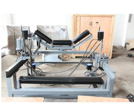 機械糾偏裝置制帶托輥帶立棍批發直銷