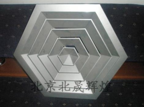 六角散流器