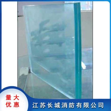 复合防火玻璃安装