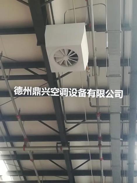 高大空间循环空气制热机组原理