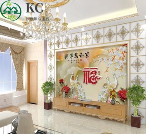 竹木3d背景墙