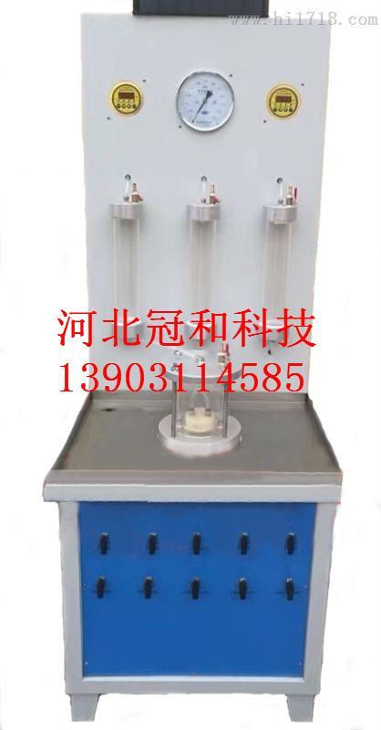 鈉基膨潤土防水毯濾失量測定儀