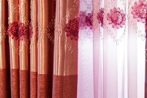 窗簾布料定制
