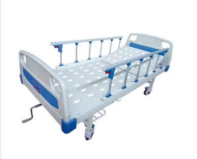JDMT-860101 ABS床头冲孔单摇护理床