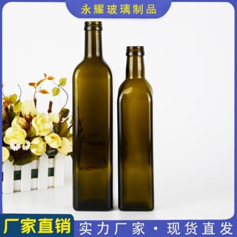 茶色橄榄油瓶