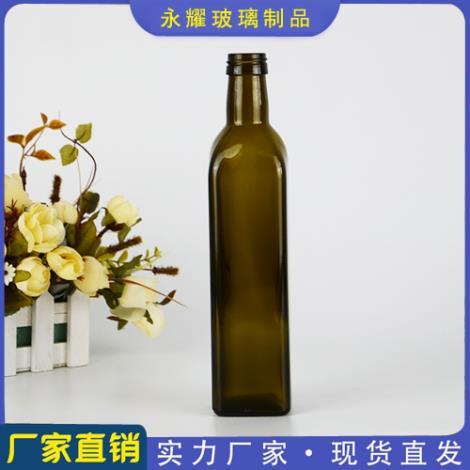 棕色橄榄油瓶