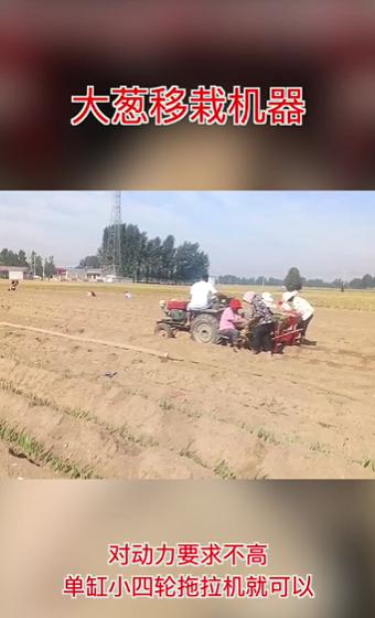 大蔥移栽機