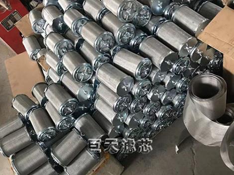 天然氣Y型管道中效濾芯廠家