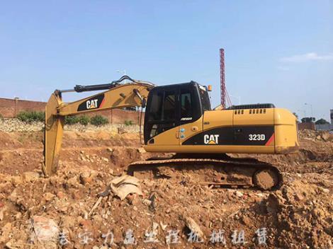 挖掘機租賃服務