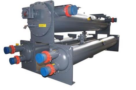 管殼式蒸發器冷凝器