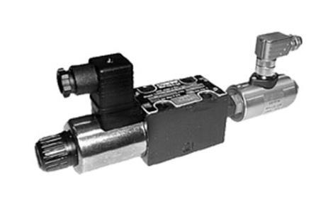 Parker派克D1VW/D1DW系列帶電感位置控制電磁換向閥
