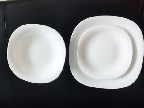 乳白玻璃器皿生產線加工