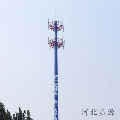 电信单管塔