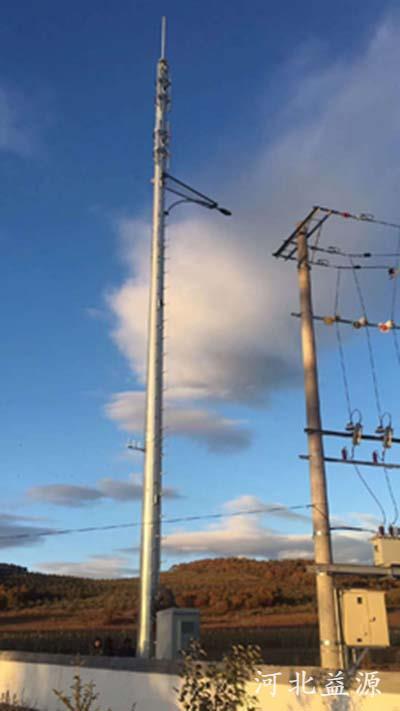 单管通信塔