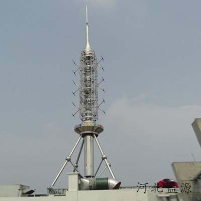 圆管美化塔
