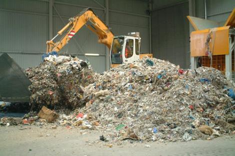 城市生活陈腐垃圾回收处理
