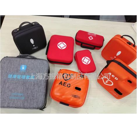 2021急救包醫用箱包定制廠家 心臟復蘇機包 AED包 定制logo