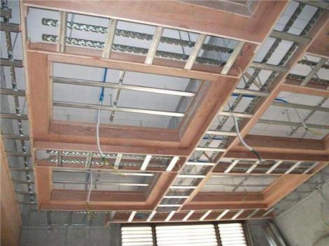 木工吊顶工艺