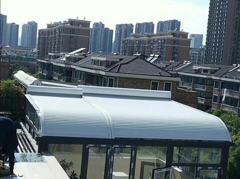 南京电动铝合金遮光帘