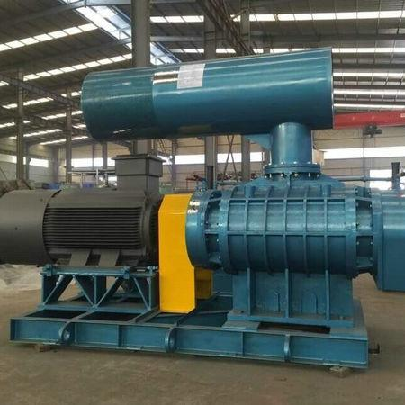 15kw低噪音罗茨鼓风机,罗茨风机配件大量供应