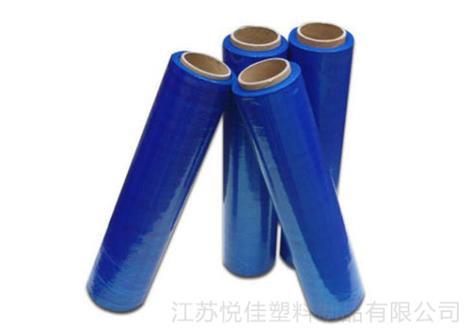 蓝色缠绕膜