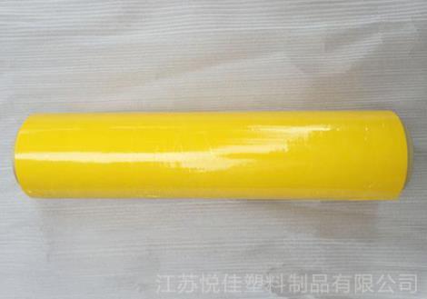 黄色缠绕膜批发