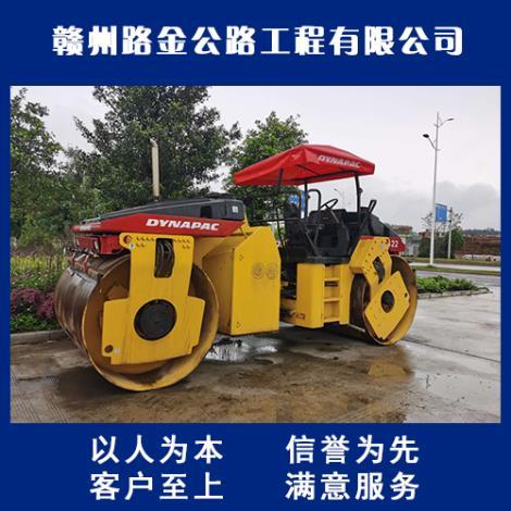 赣州双钢轮压路机租赁厂家
