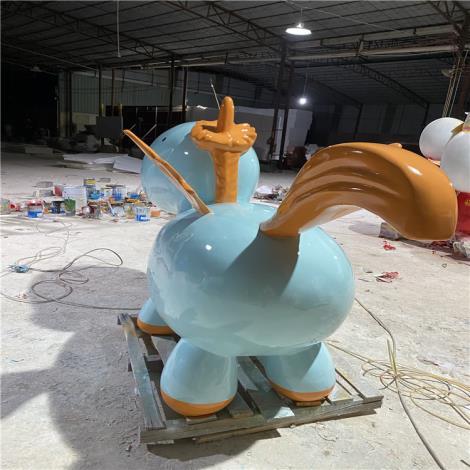 玻璃鋼動物馬雕塑