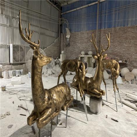 玻璃鋼羊雕塑