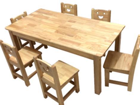 幼兒園實木桌椅加工