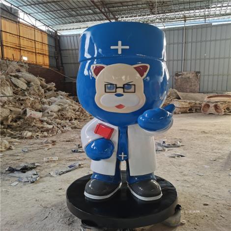 廣州玻璃鋼人偶雕塑卡通造型