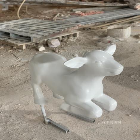 江門玻璃鋼動物造型雕塑