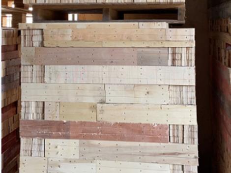 雜木木托盤腳墩加工