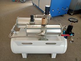 上海馨予 供應空氣增壓器/氣體增壓簡易系統