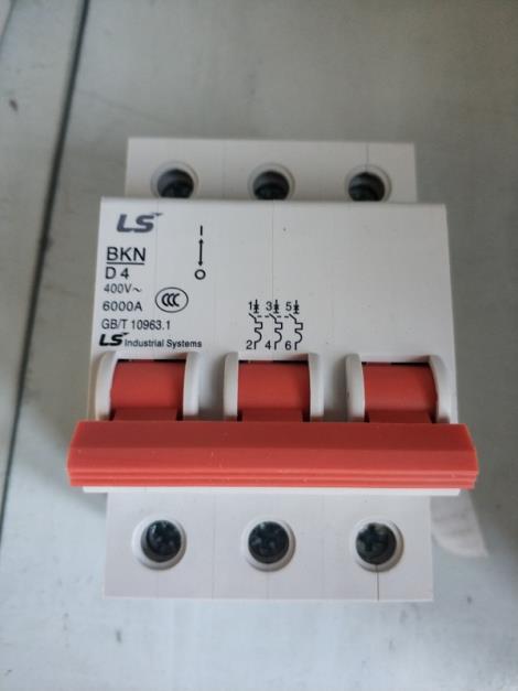 LS产电 空气开关 BKN D4 D4A 3P