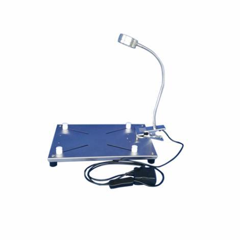 ZH-DST不锈鼠解剖台带灯